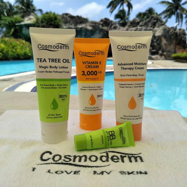 Set Travel Cosmoderm Penyelamat Untuk Aktiviti Luar