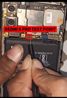 redmi 6 pro edl point
