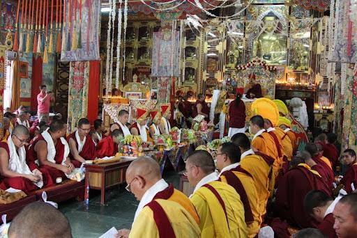Wangya Norbu Tangwa initations, Dheradun, 2012