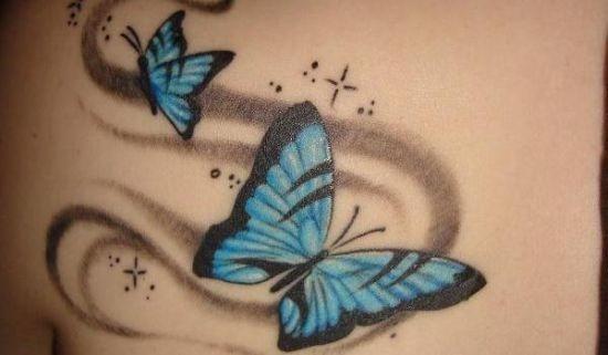 azul_tatuagem_de_borboleta_na_parte_de_trs_do_ombro