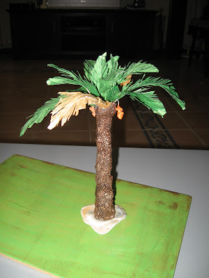 Las cosas de erb tutorial para hacer palmeras para el - Como hacer una palmera artificial ...