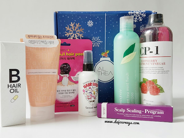 [Shopping Destination] Althea Good Day Hair box