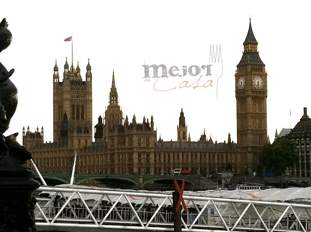 Londres restaurante a domicilio Mejor en casa