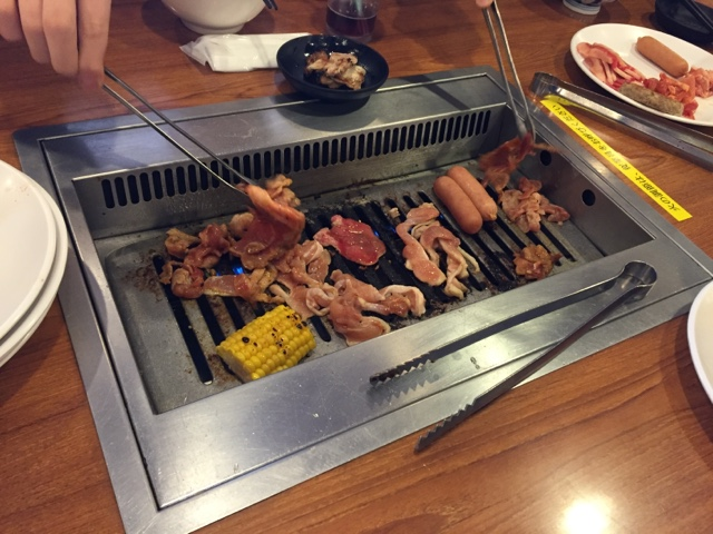 This All You Can Eat Restaurant Includes The Anese Treat Of Yakiniku Cook Your Own Meat At Table