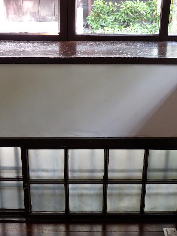 Fenêtres basses pour aération
