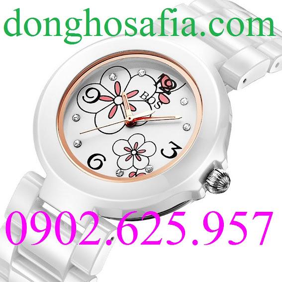 Đồng hồ nữ cơ Bos BS8003L BS102