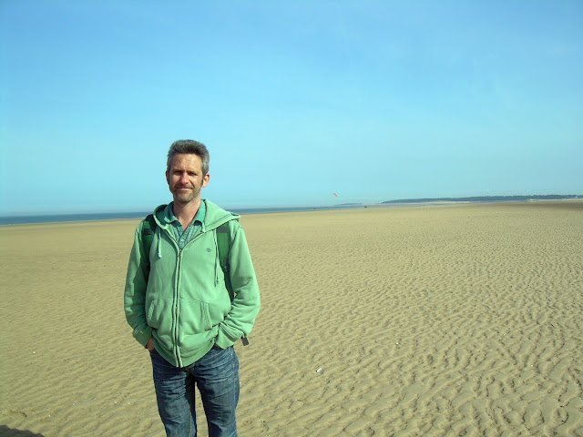 Martin on Holkham beach