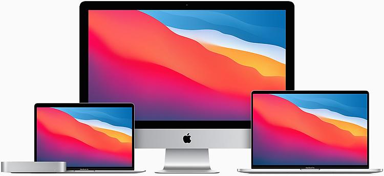 Apple MacBook Air, MacBook Pro and, Mac Mni