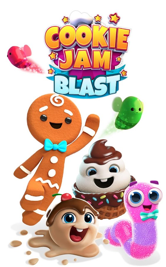 Cookie Jam Blast - Match & Crush Puzzle- screenshot
