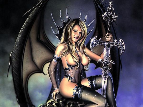 Black Sword Of Evil, Demonesses