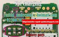 nokia 1202-1661 charging problem