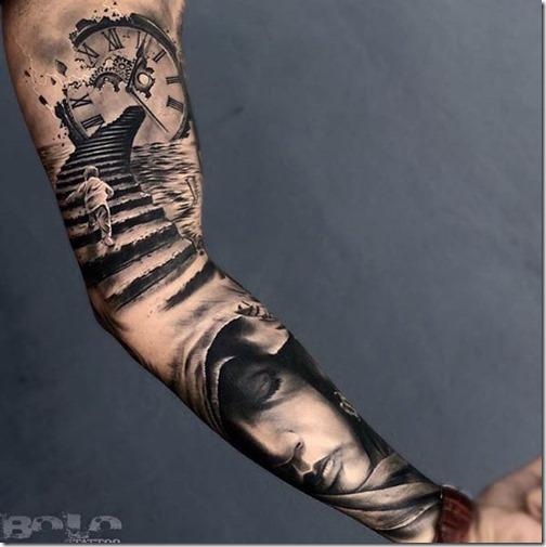 Perfecto Manga Tatuajes para hombres Con Estilo Tatuajes247