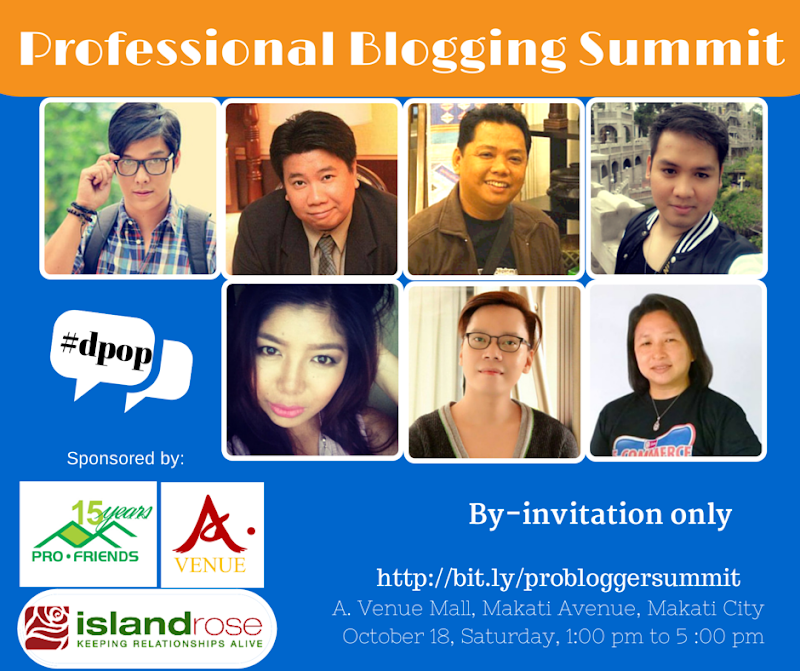 First Professional Blogging Summit 2014