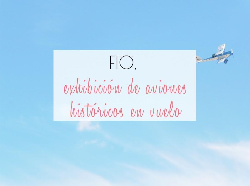 FIO aviones clásicos en vuelo Madrid