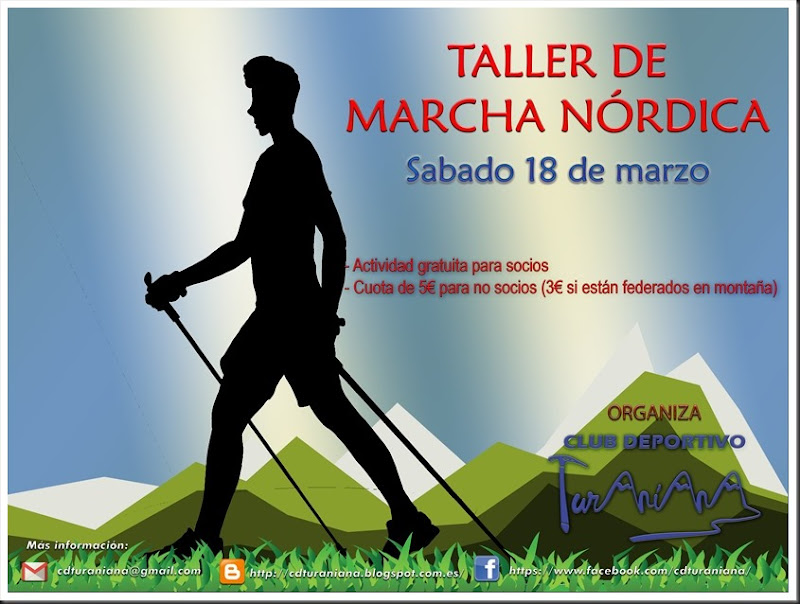 Cartel 3 Taller de Marcha Nórdica