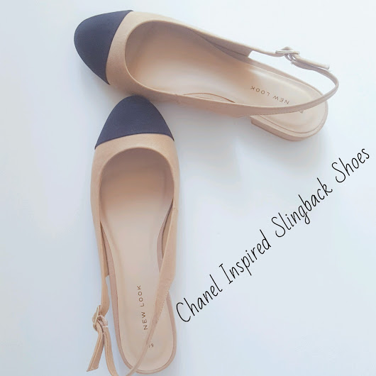 CHANEL INSPIRED SLINGBACK SHOES