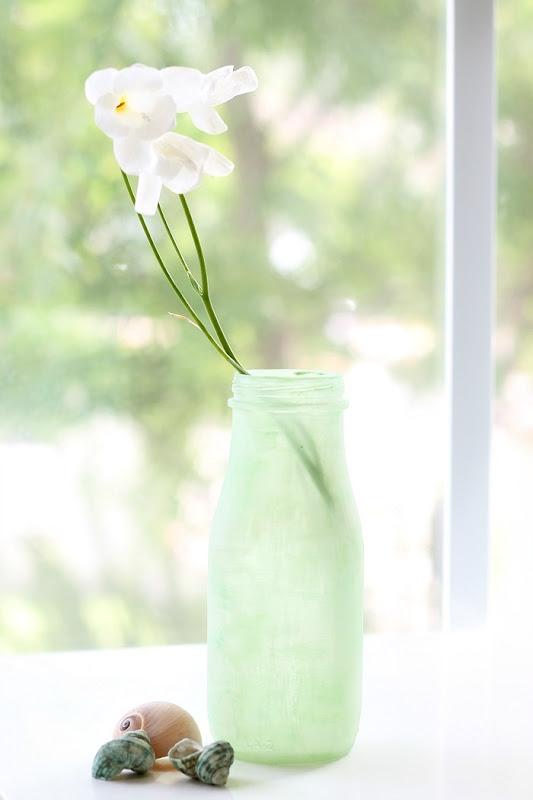 DIY Green Sea Glass via homework (9)