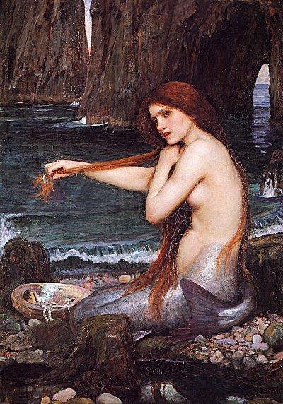 Mermaid J W Waterhouse, Mermaids