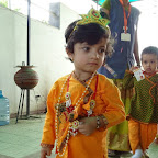 Janmashtami Celebration (Pre-primary) 03.09.2015