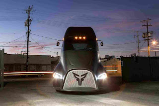 Meet the new electric truck that will challenge Tesla's semi-truck