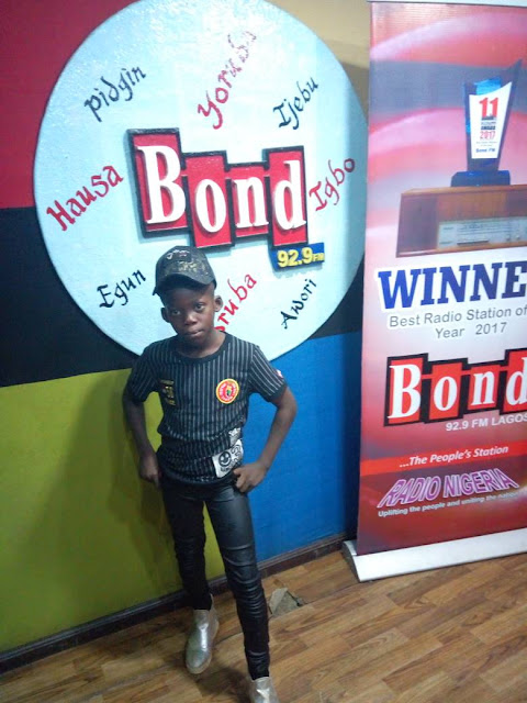 Meet Lewis, 9year Old Rapper That Express His Feelings To The Govt. Through Music (Photos)