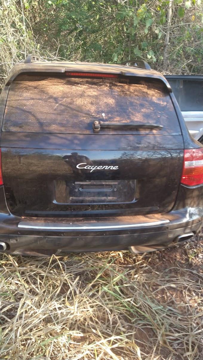 Carros usados pelos bandidos são encontrados pela PM na região de Araçatuba