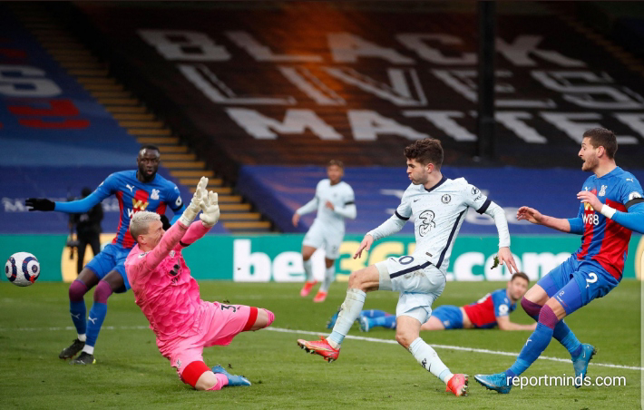 Premier League: Pulisic nets brace as Chelsea thrashed Crystal Palace 4-1 at Selhurst Park