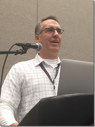 Peter Drinkwater at RootsTech 2017