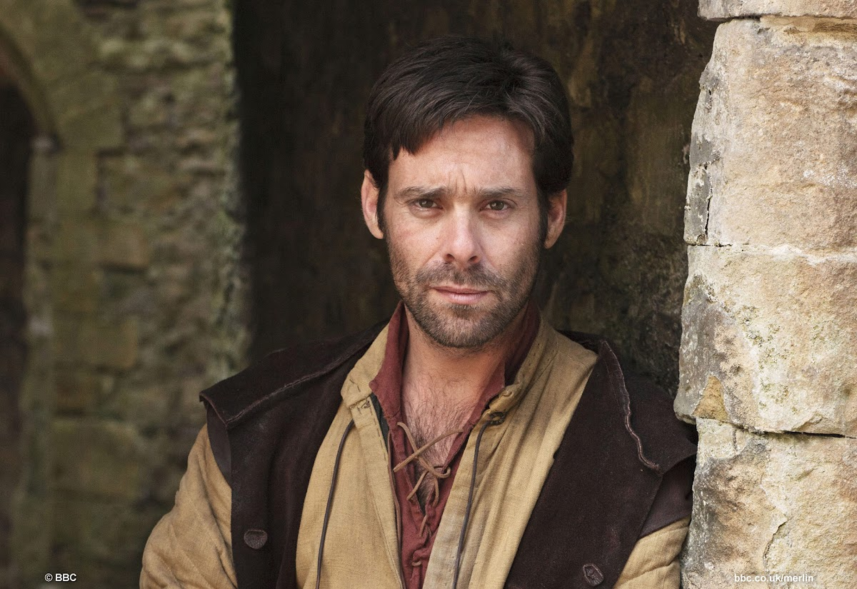 James Callis is Julius Borden BBC Merlin Aithusa
