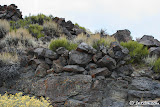 A possible hunting blind near a small offshoot of the canyon.