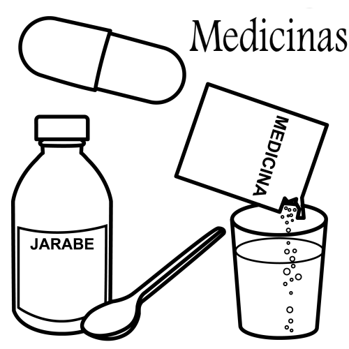 Free Medicine Coloring Pages