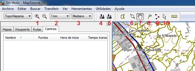 Guia Map Source de Garmin Mps2