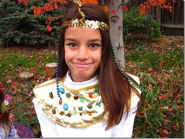 cleopatra disfraz casero