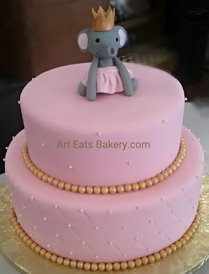Girl S Baby Shower Specialty Cakes Art Eats Bakery Taylor S Sc Premier Cake Boutique