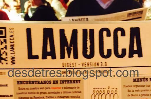 restaurante LAMUCCA de almagro
