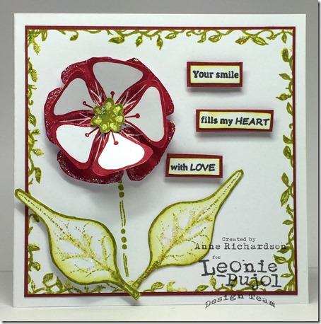 Leonie - funky flowers wm