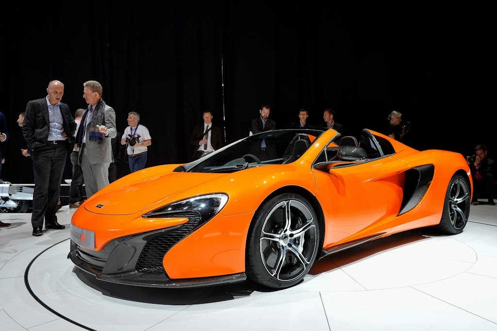 McLaren 650S Spider Geneva Motor Show 32