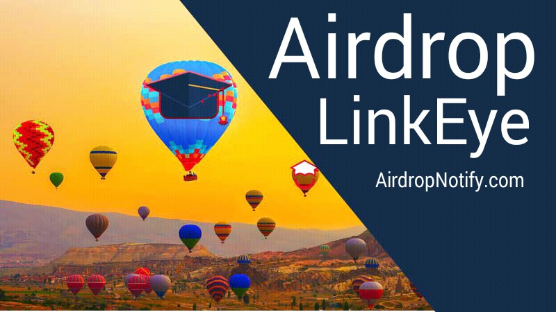 LinkEye Crypto Airdrop Alert | Earn Free Cryptocurrency