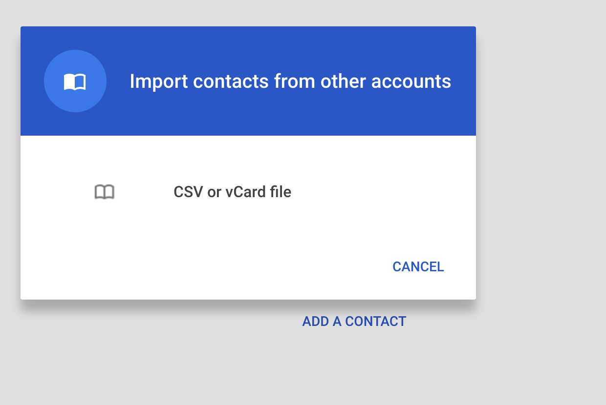 Cannot import Contacts from Yahoo Mail - Gmail Help