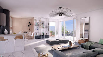 Appartement 4 pièces 84,91 m2