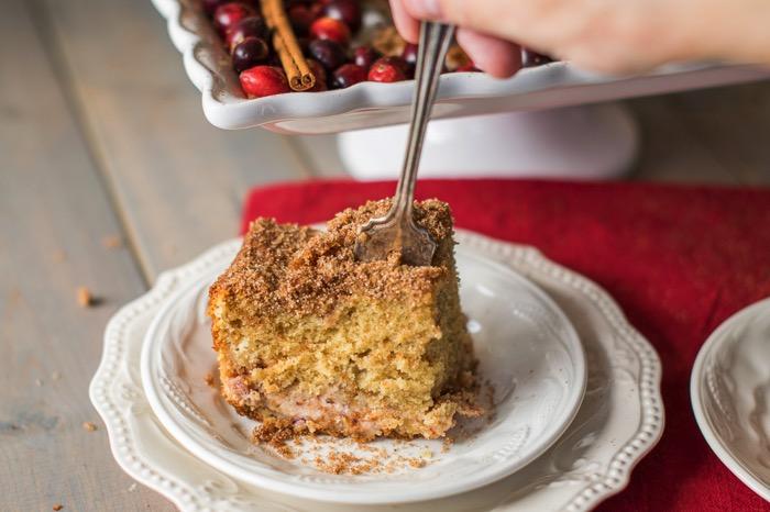 Recipe for sour cream coffee cake