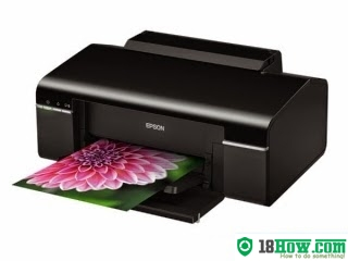 How to reset flashing lights for Epson T42WD printer