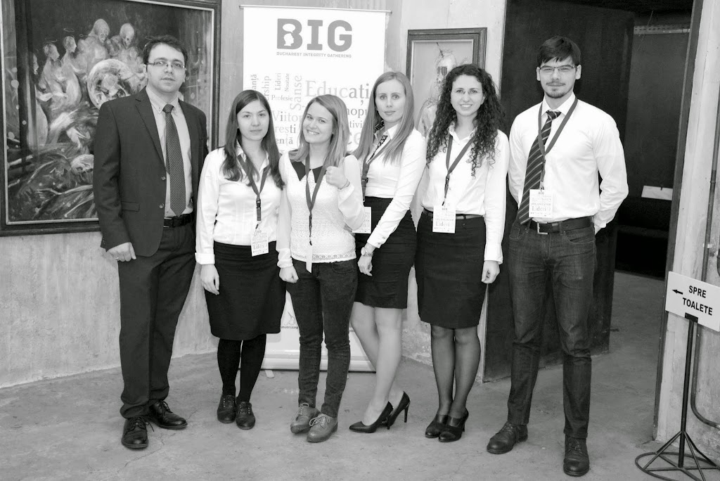 Bucharest Integrity Gathering - B&W - (4)