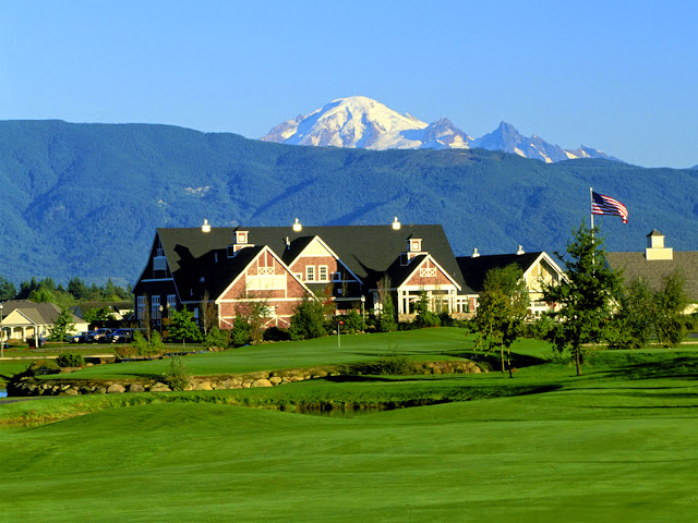 Homestead Farms Golf Resort & Convention Center is a charming country side resort nestled in the valley of Mount Baker and the Canadian Cascade Mountain Range, located just north of historic downtown Lynden. / Credit: Homestead Farms Golf Resort