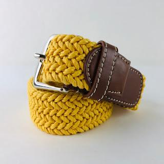 Loro Piana Braided Belt