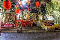 Nusa Penida, Goa giri putri, cave temple, Batu medau, Tunjuk pusuh temple