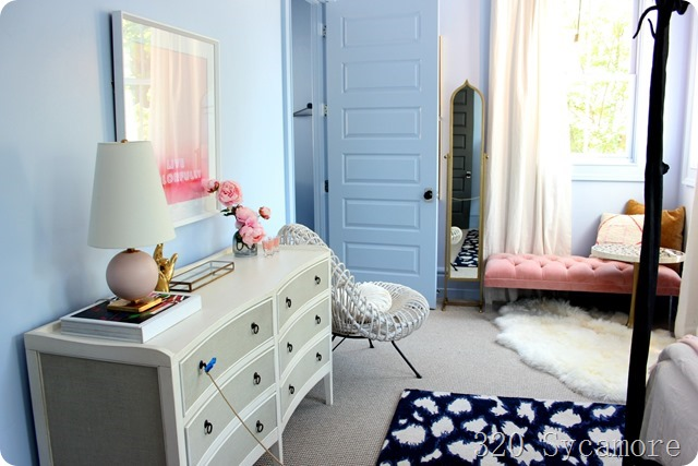 periwinkle girls room