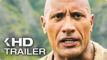 JUMANJI starring The Rock Movie Trailer