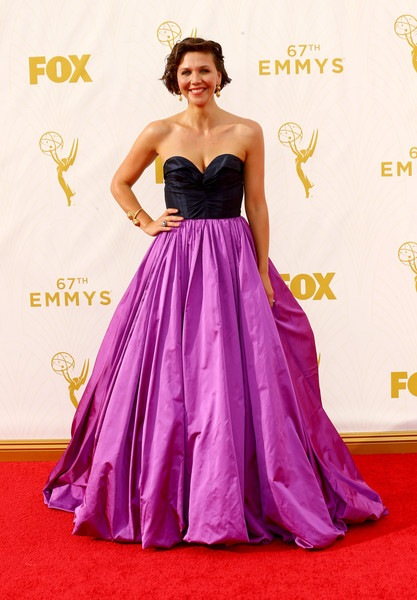 Maggie Gyllenhaal attends the 67th Annual Primetime Emmy Awards