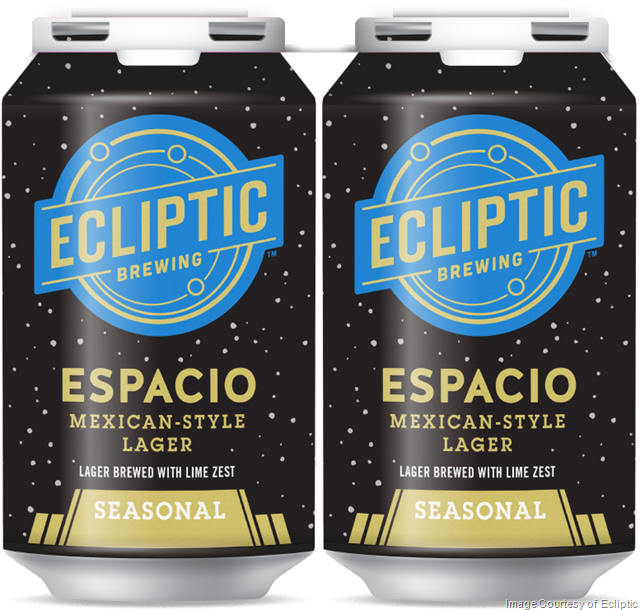 Ecliptic Releasing Espacio Mexican-Style Lager with Lime Zest ...